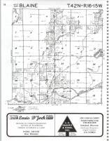 Map Image 025, Burnett County 1981